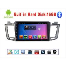Navegación GPS del coche del sistema del androide para Toyota RAV4 10.1 Pantalla táctil de la pulgada con Bluetooth / MP3 / MP4