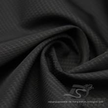 Wasser & Wind-resistent Mode Jacke Daunenjacke Gewebt Twill Plaid Jacquard 100% Polyester Sea-Island Filament Stoff (X044)