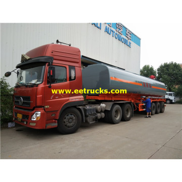 25m3 Large Corrosive Liquid Transport نصف مقطورة