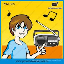 Linterna Solar 3W portátil con Radio FM para África