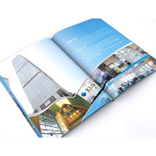 Perfektes gebundenes Papier-Magazin-Druckpapier-Drucken