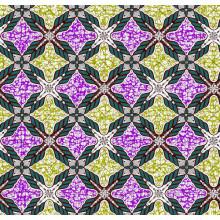 cotton wax Printed fabrics 24x24 72x60