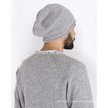 Wholesale 100% Cashmere Warm-Keeping Beanie Hat