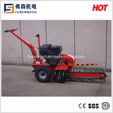 7HP Gasoline Mini Trencher, Small Trencher with Working Width 100mm