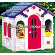 Jardín juguetes de plástico al aire libre playhouse