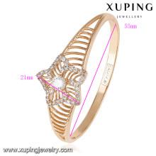 50817 Xuping nouveau design en gros plaqué or indien bracelets