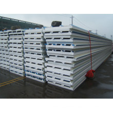 Color steel EPS sandwich panel roof panel Eco friendly product lightweight insulated precast eps concrete cement sandwich