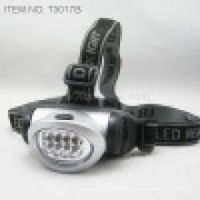 8 PCS LED blanco brillante faro (T3017B)