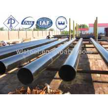 Instalación de tubos y tuberías de acero sin soldadura de carbono