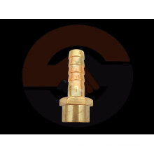 "1/2"" NPT, BSP threaded Brass Male Hose Nipple with high quality"