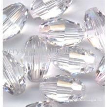Cuentas cristalinas claras