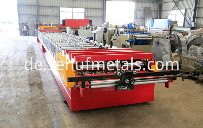 Floor deck forming machine 2