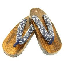 japão de madeira pé sola de sapato de madeira