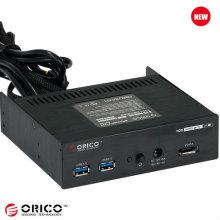 Placa multifuncional frontal CD-ROM USB3.0 + eSATA + interruptor de alimentação