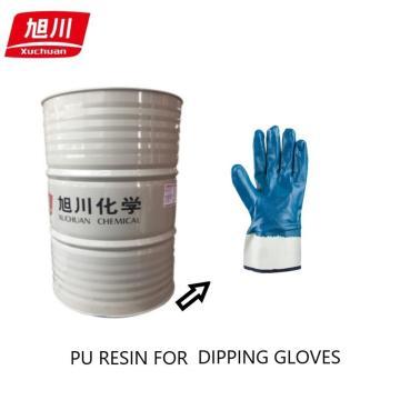 pu resins for impregnation gloves