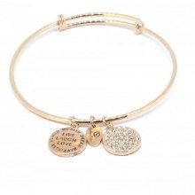 Moda de aço inoxidável personalizado jóia bracelete para decoração