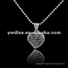 Western Style Hot Sale Heart Shape Necklace, Beautiful Necklace & Different Colors For Your Choose