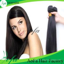 Оптовая 7А/8А класса норки волос Девы Реми человеческих волос уток