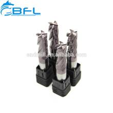 Broca de fresado recto de flauta recta MD 2 de carburo CNC BFL para MDF