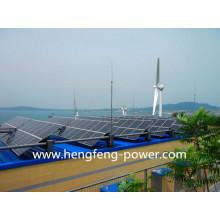 gerador de turbina de vento 10KW com sistema de painéis solares