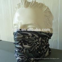 Outdoor 100% micro polyester azo free circle printed seamless multifunctional bandana
