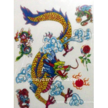 dragon temporary tattoo stickers