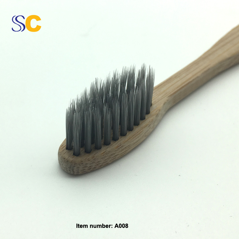 Bamboo Charcoal Toothbrush A008-4