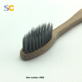 New Design 100% Bamboo Charcoal Toothbrush