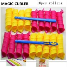 18PC / 40cm Curlformers grandes del barril (HEAD-62)
