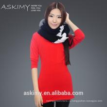 2015 мода женщин теплый зимний большой шарф