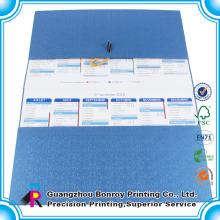 2014 мода настенный календарь дизайн /глянец бумага календарь
