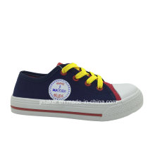 Blank Printing Children Canvas Sneaker (X164-S&B)