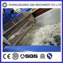 Máquina de lavar y pelletizar de película PE / PP