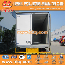 SHACMAN 4x2 270hp refrigerator box truck for exported to Africa