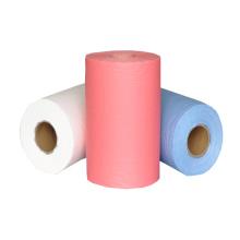 SMS Spunbond Landwirtschaft / Küche / Krankenhaus chirurgische Einweg-Vliesstoff Mikrofasertuch Farbe absorbierende Polypropylen