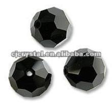 Perlas de vidrio redondas, perlas de vidrio para araña
