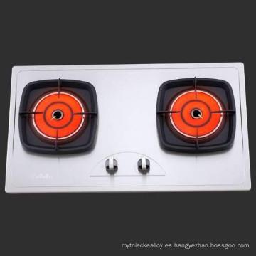 Catalizador metálico para hornos industriales y hornos