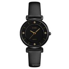 Top Fashion Women Charm Bracelet Wrist Watch Diamond Skmei 1330 Brand Ladies Minimalist Leather Waterproof Luxury Quartz Watch