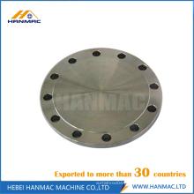 Flange cego de alumínio classe150 ASME B16.5