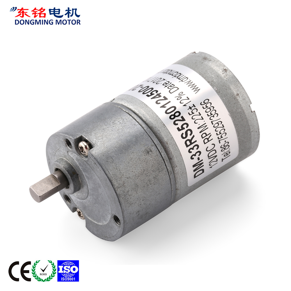 12v high torque dc geared motor