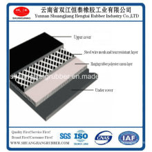 Laceration Steel Mesh Resistant Conveyor Belt