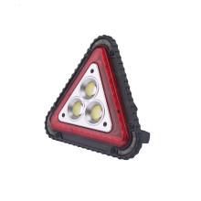 Luz de aviso de triângulo de luz de inundação LED impermeável portátil