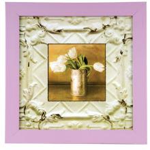 Rosa Bilderrahmen für Wohnhalle Zimmer Bett Zimmer