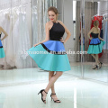 B046 Latest Fashion Women's Short Front Long Back Evening Dress