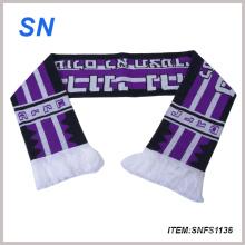 Nueva bufanda al por mayor del fútbol del ventilador de fútbol de la manera