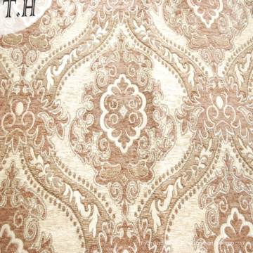 Großhandel Luxus Blume Design Jacquard Chenille Polster Sofa Vorhangstoff