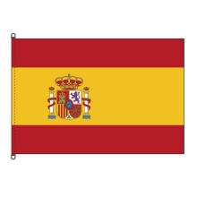Brillante bandera de España Stormflag