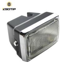 Wholesale motorcycle 1 bulb headlight fit for AX100 universal motorcycle headlights FAROL DELANTERO P/M