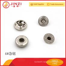 High end metal rivet button for jeans / cloths promotional