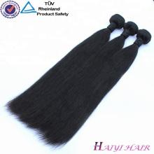 Prix de gros 100 indienne humaine droite 24 pouces extension de cheveux humains Weave